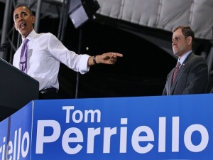President Obama Attends Rally For Rep. Tom Perriello